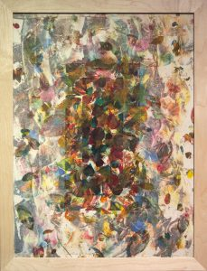 Lloyd Schermer - Window of Leaves #2
