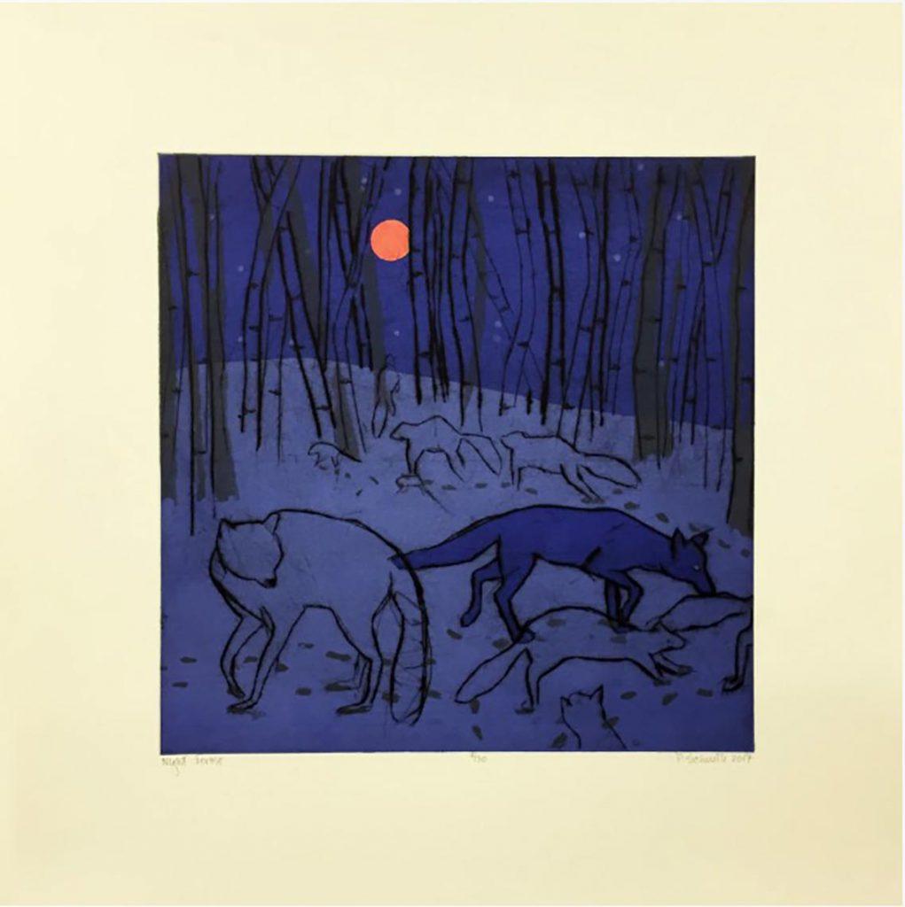 Paula Schuette Kraemer - Night Forest 8/20