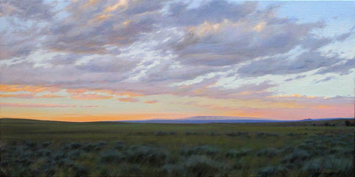 "Linda Lillegraven - ""The Pryor Mountains"""