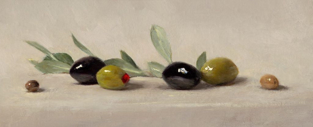 Sarah Lamb - Olives and Leaves
