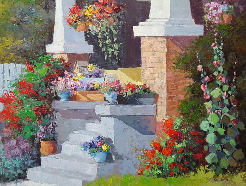 Sean Wallis - Porch Adorned