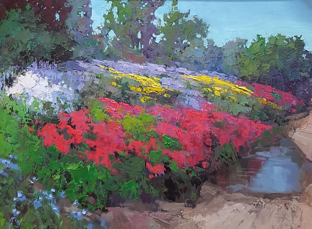 Sean Wallis - Spring Wildflowers