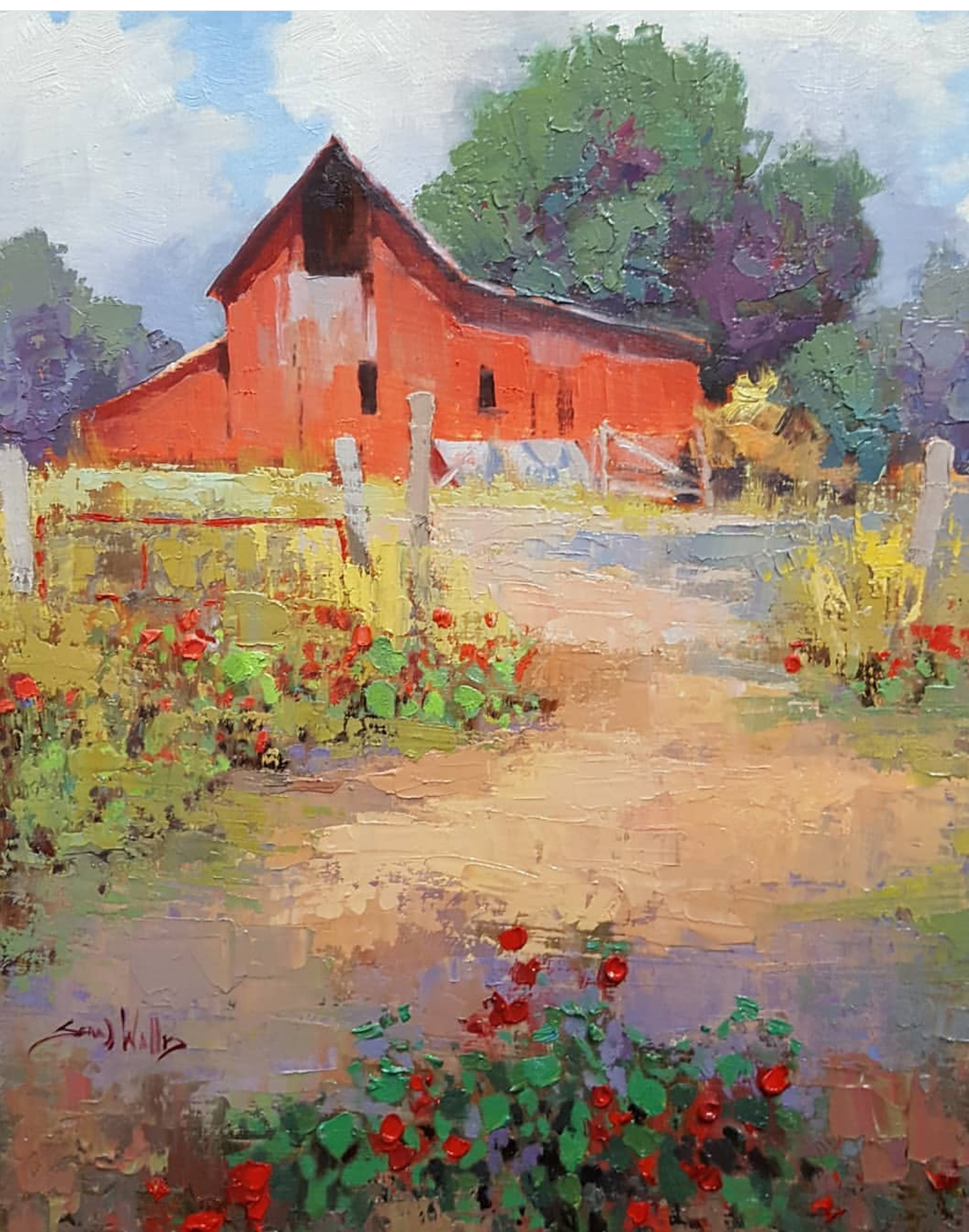Sean Wallis - Spring Barn