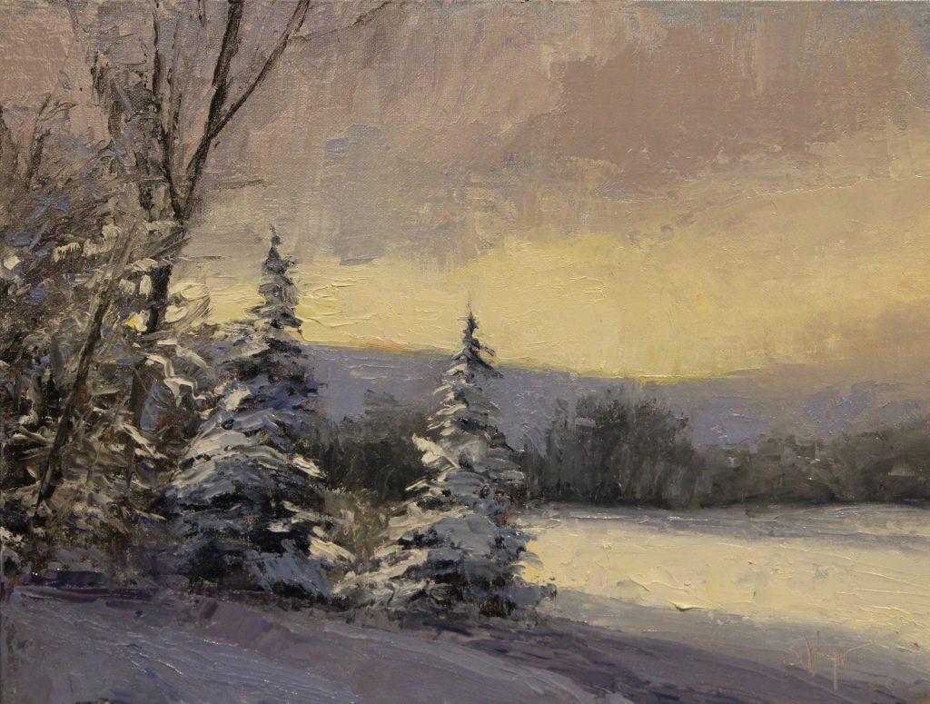 Simon Winegar - Across a Frozen Lake