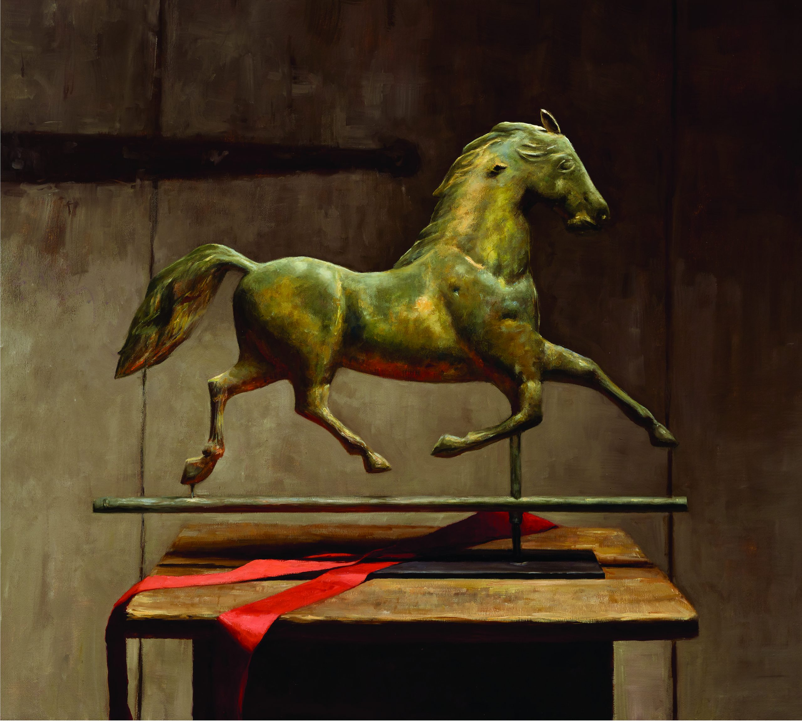 Sarah Lamb - Antique Horse Weathervane
