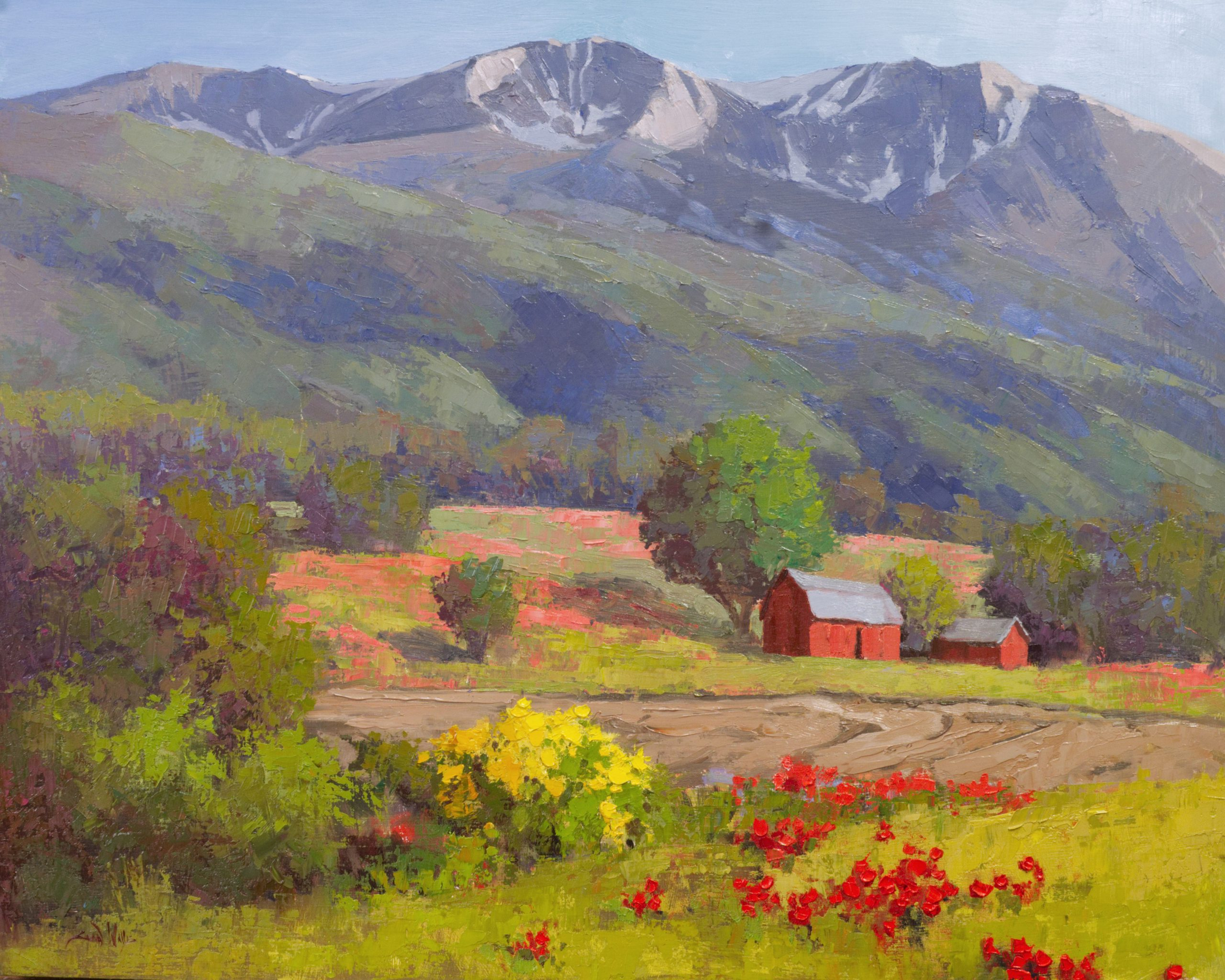 Sean Wallis - Below Mount Sopris