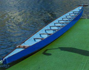Tom Korologos - Blue Boat, Green Dock 09