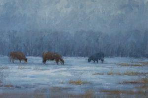 Terry  Gardner - Cold Winter Evening
