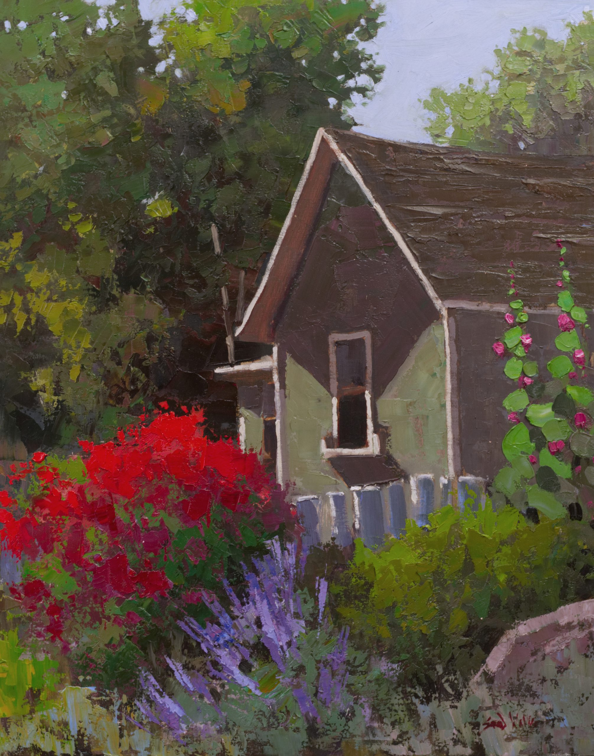 Sean Wallis - Colorful Homestead
