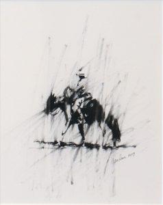 Terry  Gardner - Cowboy Sketch