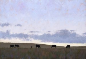 Nathan Solano  - Cows and Clouds
