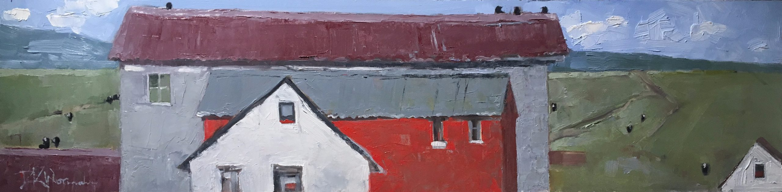 Dinah Worman - Cows, Crows, and Old Buildings