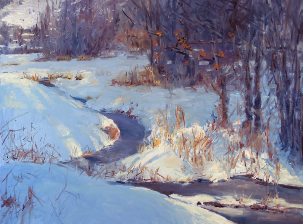 Peter Campbell - Creek in January