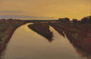Peter Campbell - Daybreak on the Rio Grande
