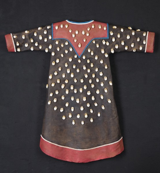 Janet  Nelson  - Elk Tooth Dress