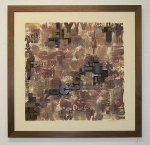 Lloyd  Schermer  - Embossed and Rising Type #6
