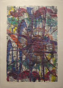 Lloyd  Schermer  - Embossed Colored Ink Type Study #42
