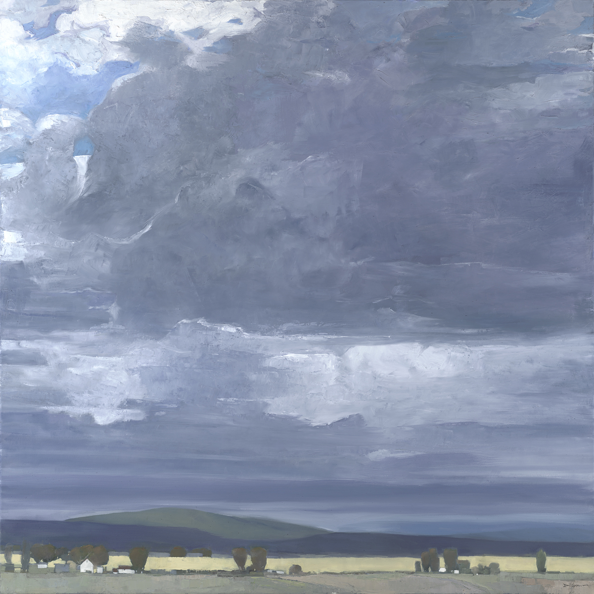 Dinah Worman - Foreboding Skies