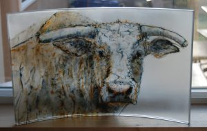Heather Foster - Glass Bull