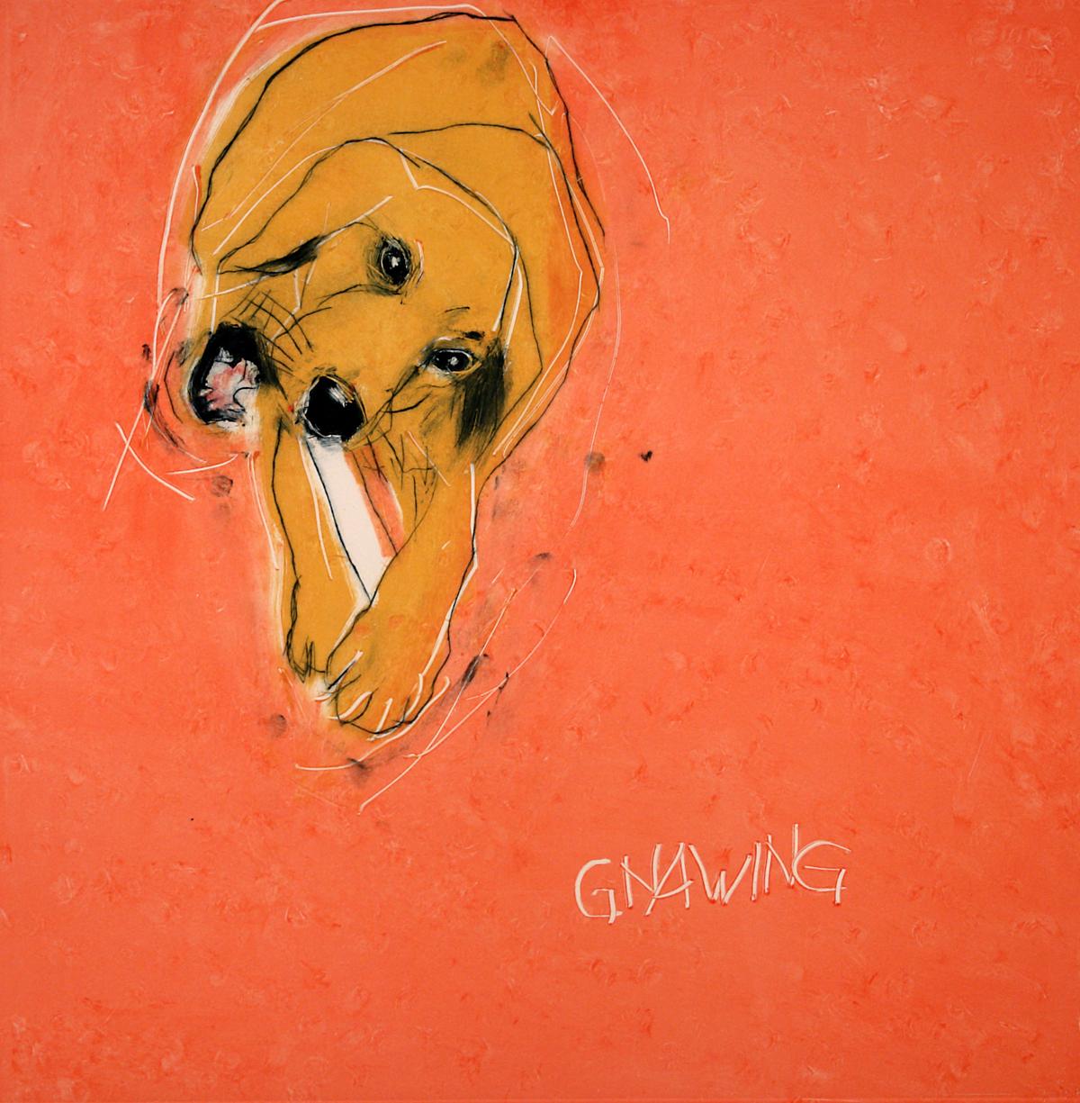 Paula Schuette Kraemer - Gnawing II, 7/15