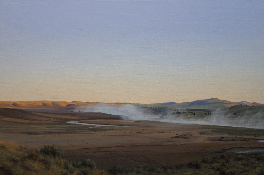 Linda Lillegraven - Hayden Valley Dawn