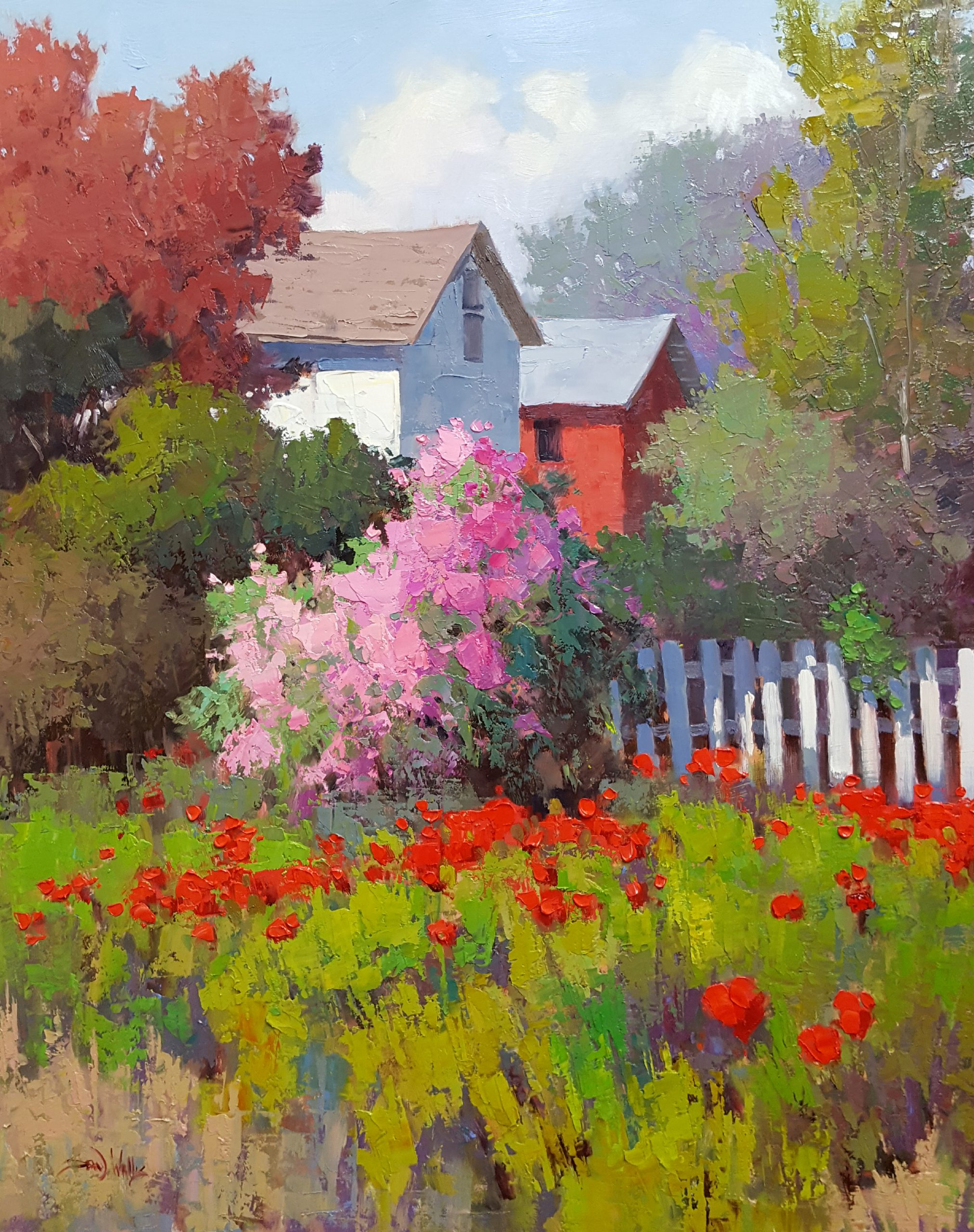 Sean Wallis - Hyrum Poppies