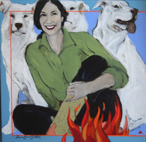 Donna Howell-Sickles - Laughter by Firelight