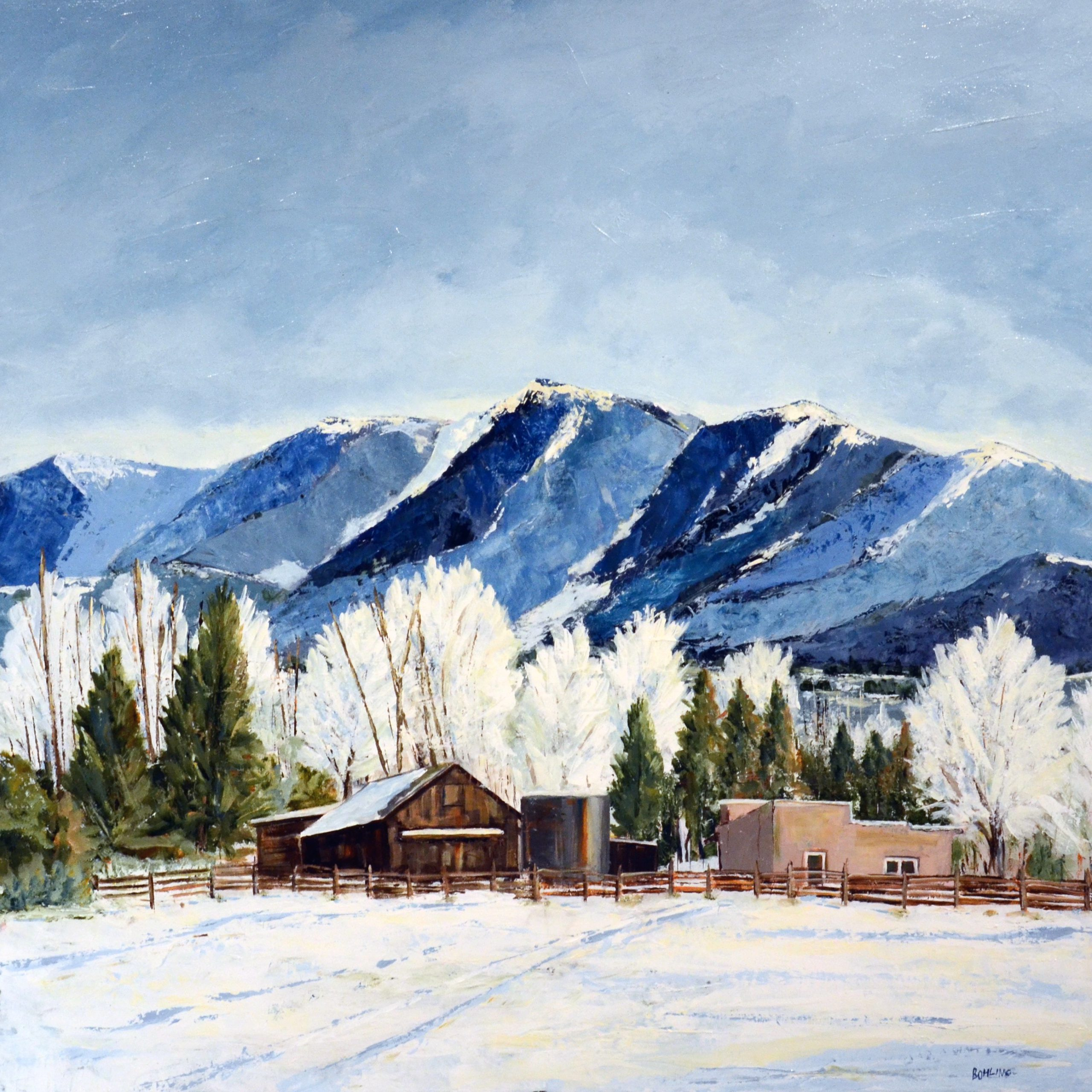 James Bohling - Mid-Morning in Taos