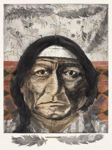 Tomas Lasansky - Native American Portrait ws