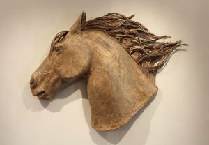 Janet  Nelson  - One Horse Head 2013