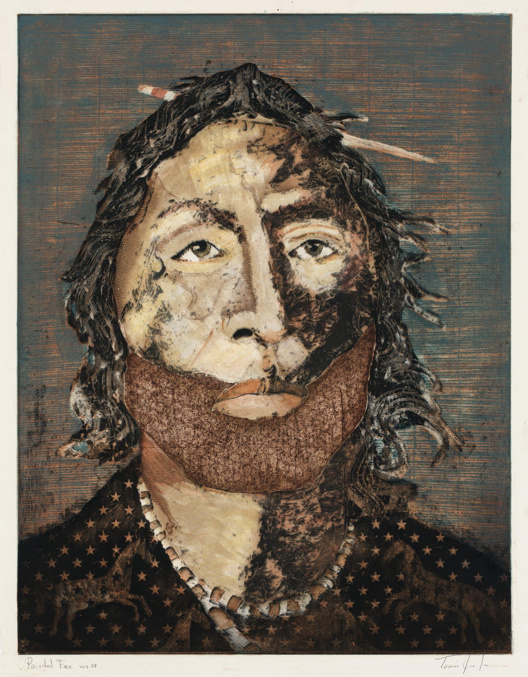 Tomas Lasansky - Painted Face ws 28