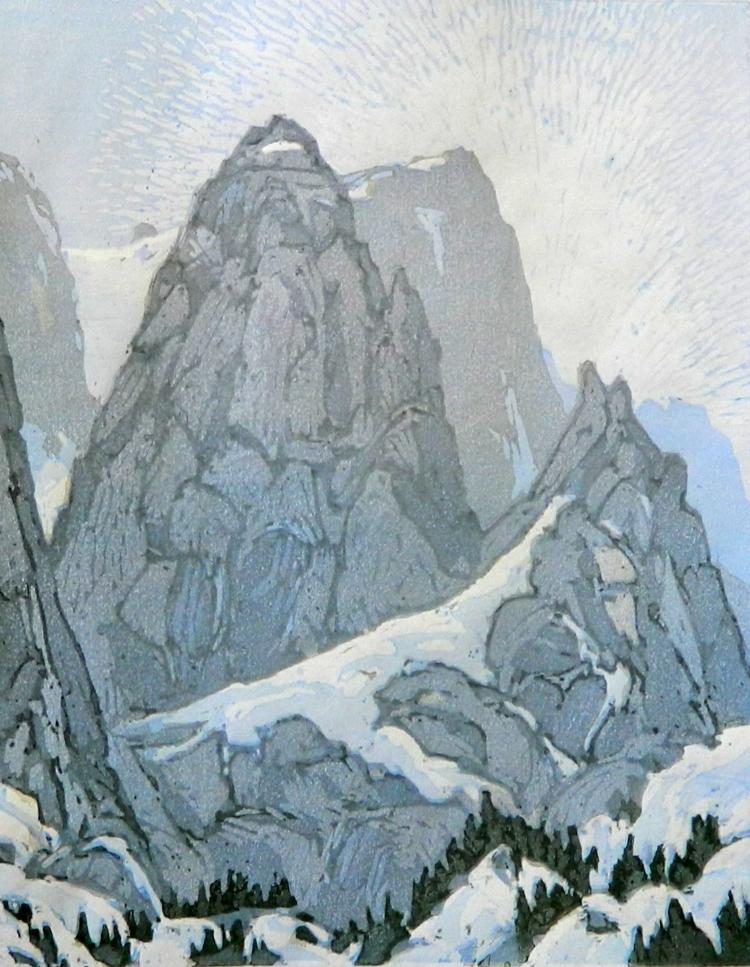 Leon Loughridge - Peak Study, 8/15