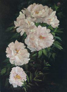 Marie Figge Wise - Peonies II