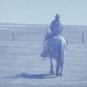 Terry  Gardner - Roping at Chico Basin