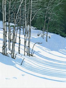 Sherrie York - Snow Shadows II 5/10
