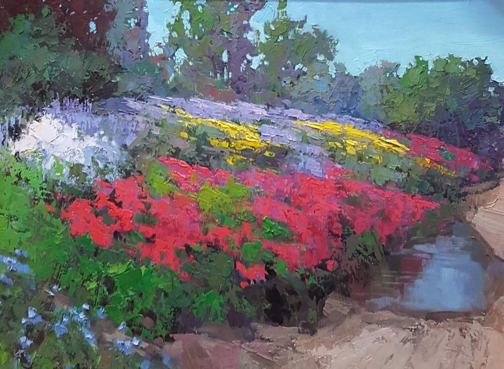 Sean Wallis - Spring Wildflowers