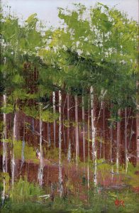 Marie Figge Wise - Through the Aspens