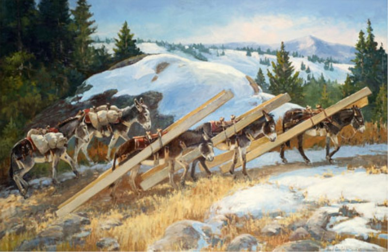 Veryl Goodnight - Timbers to the Tomboy Mine