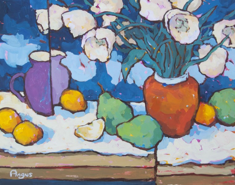 Angus Wilson - Tulips Bathed in Light