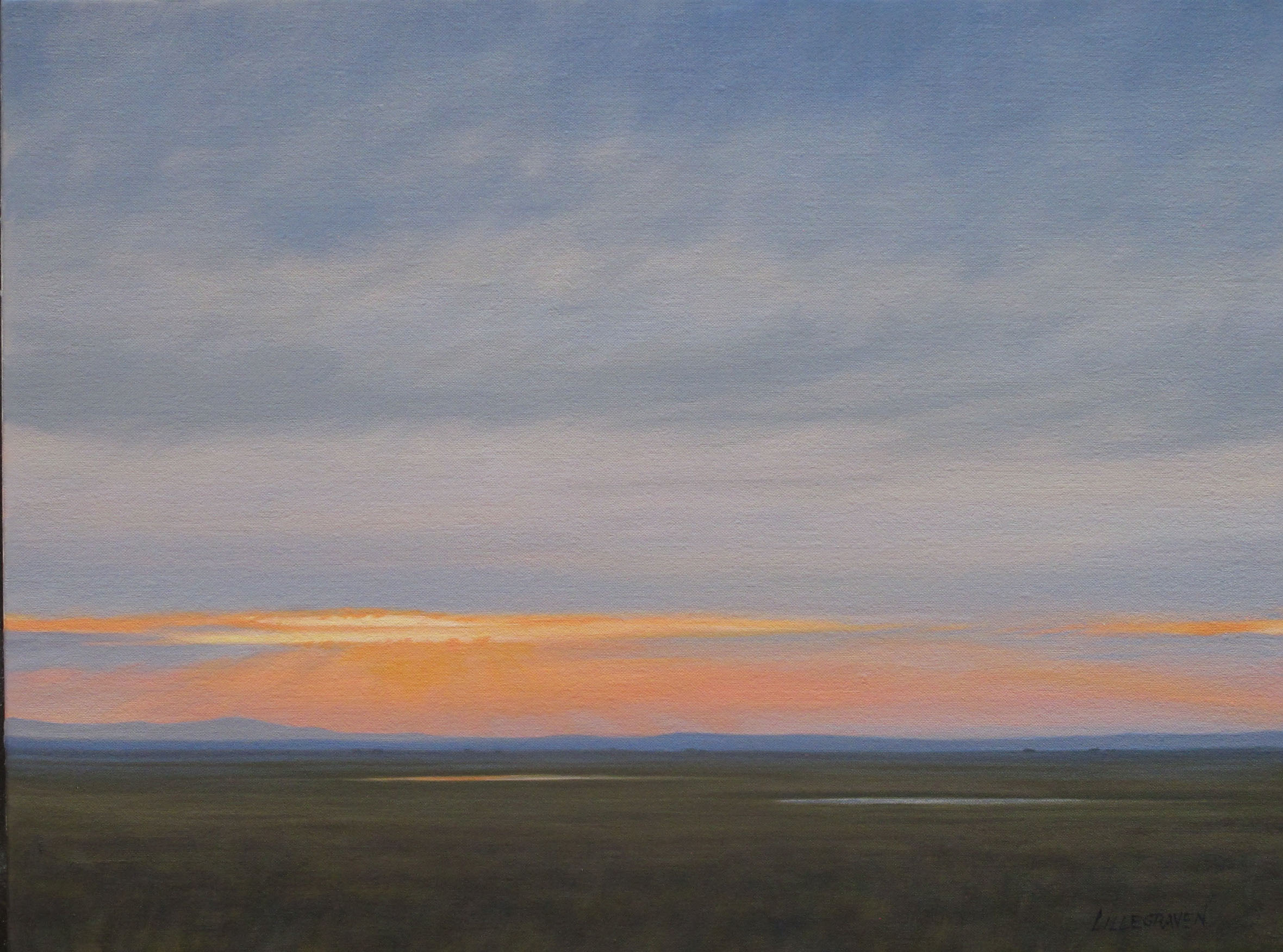 Linda Lillegraven - Two Prairie Ponds