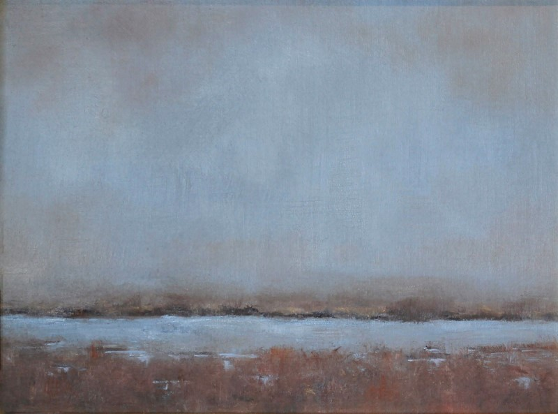 Marie Figge Wise - Waiting for Ducks to Land Study 1