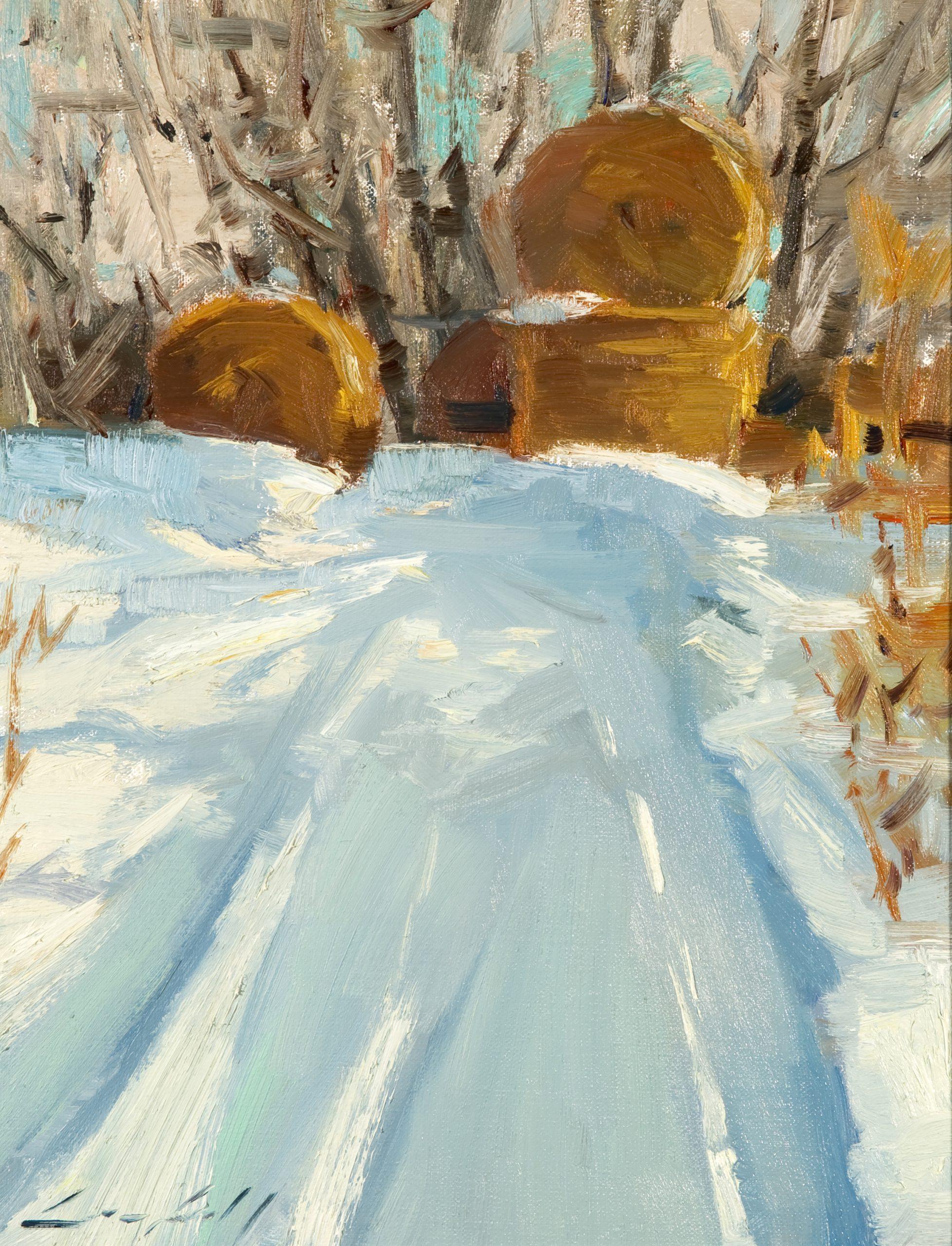 Peter Campbell - Winter Haystacks