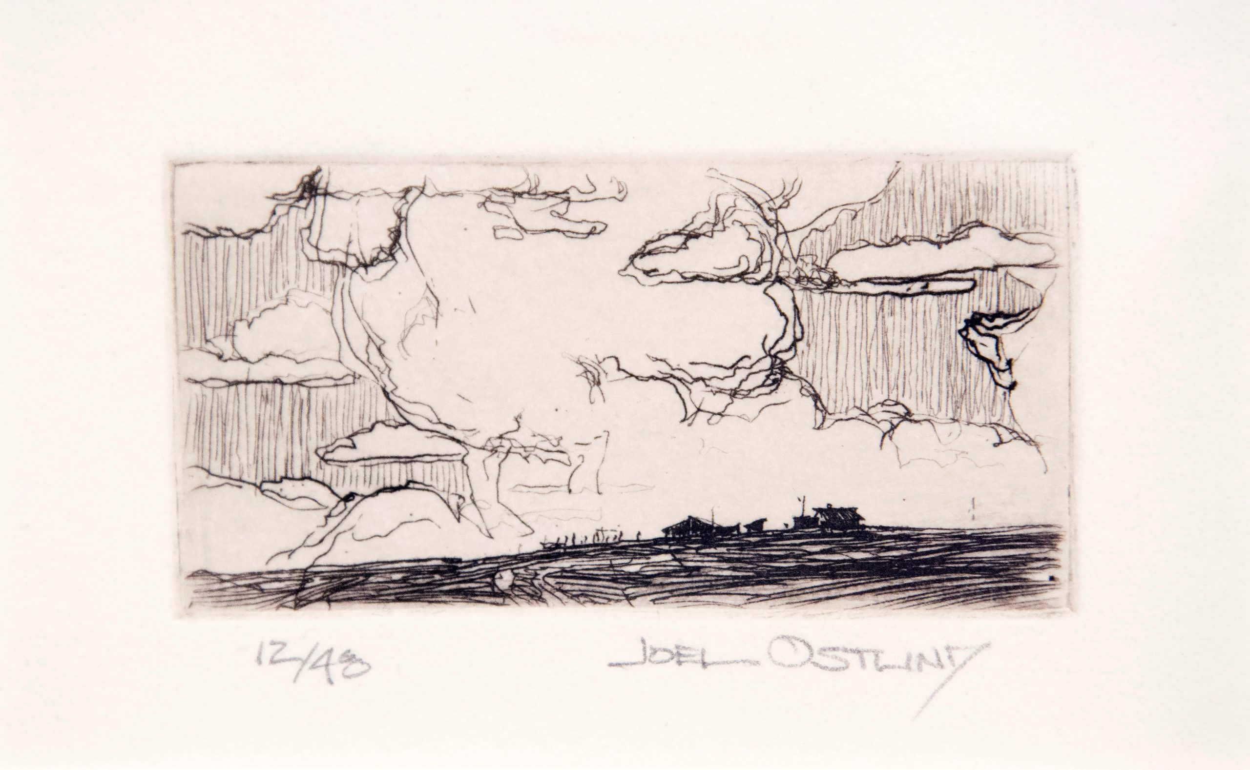 Joel  Ostlind  - World Wide and Sky High, 12/48