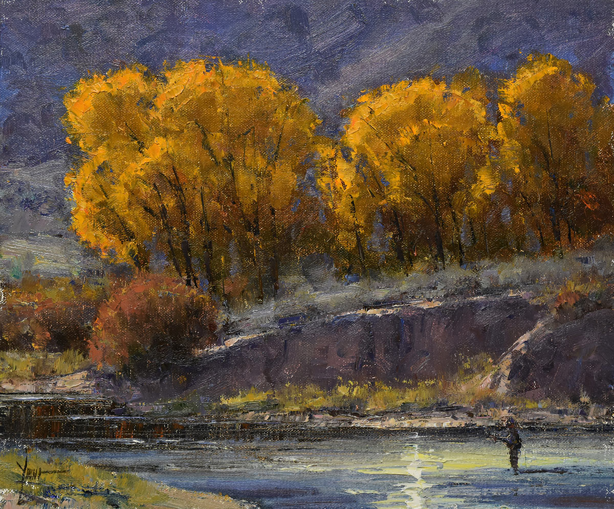 Dan Young - Autumn on the Eagle