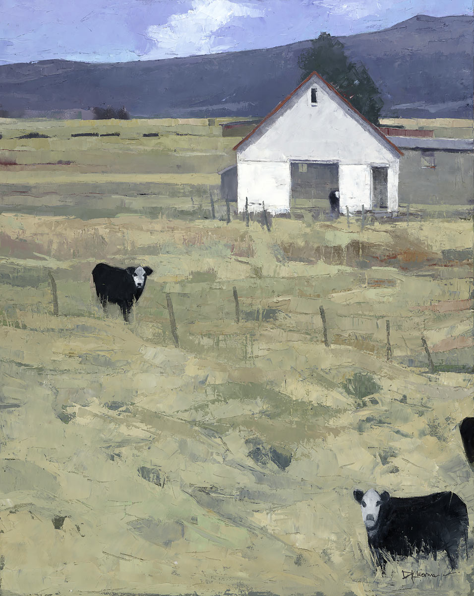 Dinah Worman - Three and a Half Cows