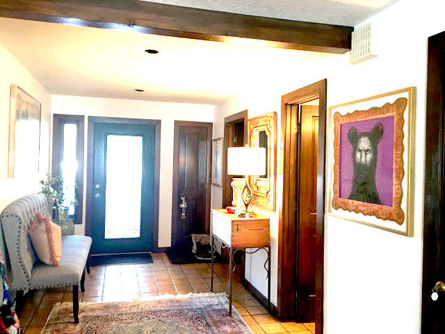 Paula Schuette Kreamer art in situ entryway interior design
