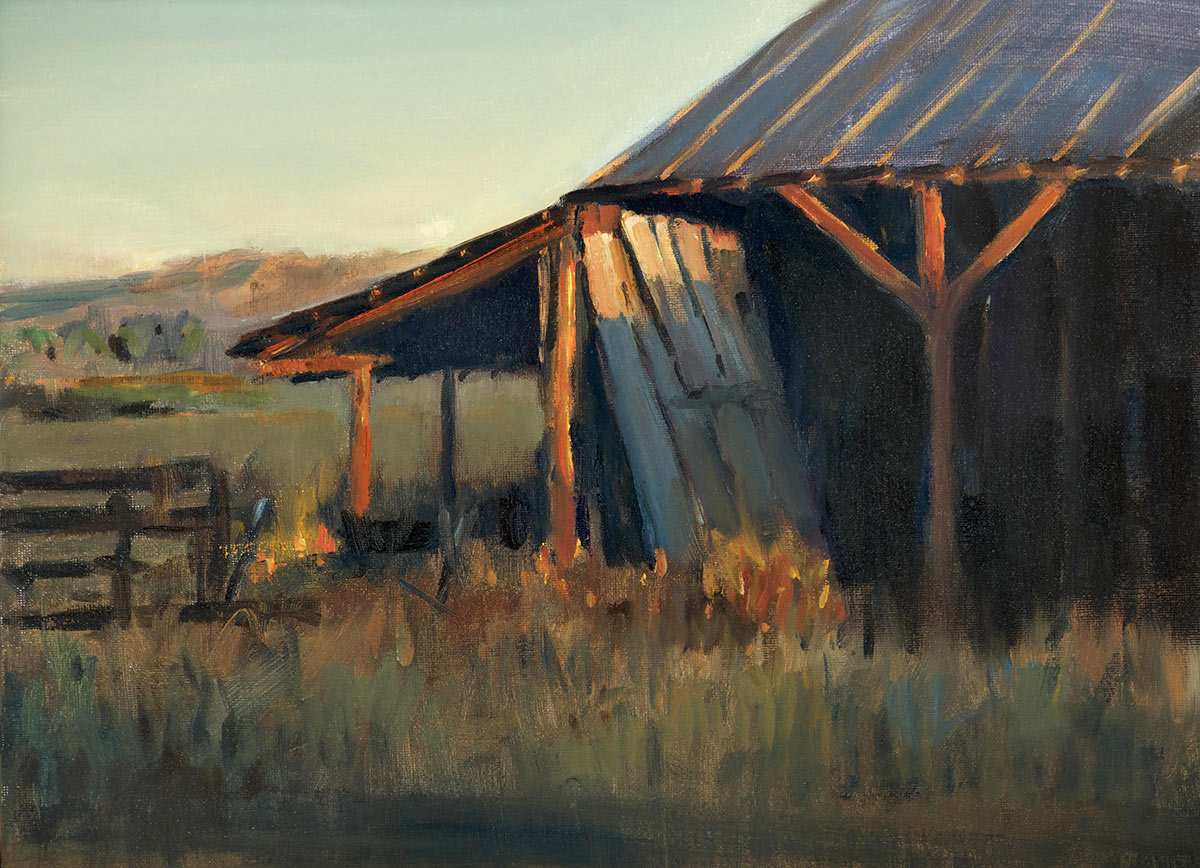 Peter Campbell - The Neighbor's Barn