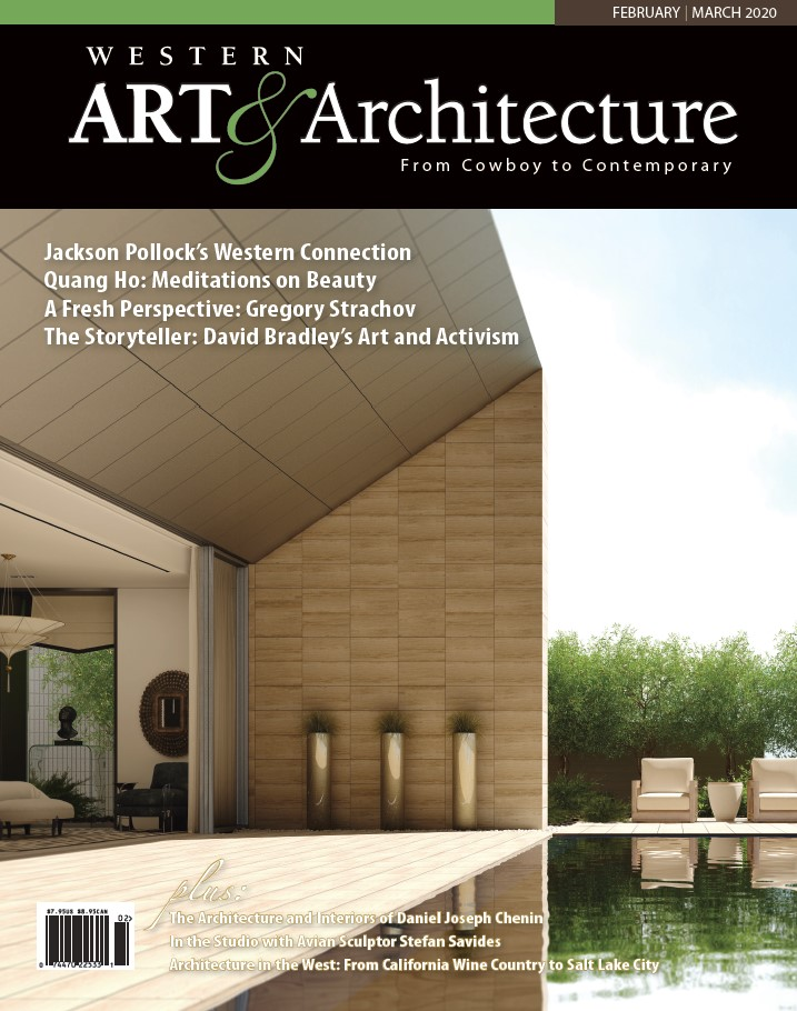 Western Art Architecture, Cover Feb/Mar 2020, Paula Kraemer