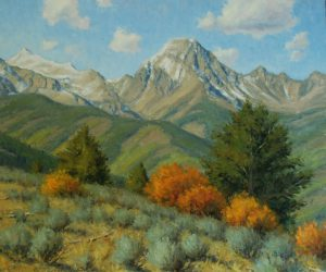 Dan Young - DUSTING ON THE PEAKS