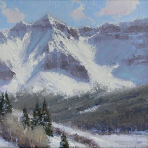 Dan Young - Fresh  Snow on Sheep Montain